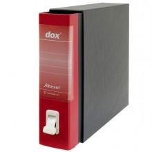 Registratore Dox 2 Rosso Dorso 8Cm F.To Protocollo Rexel