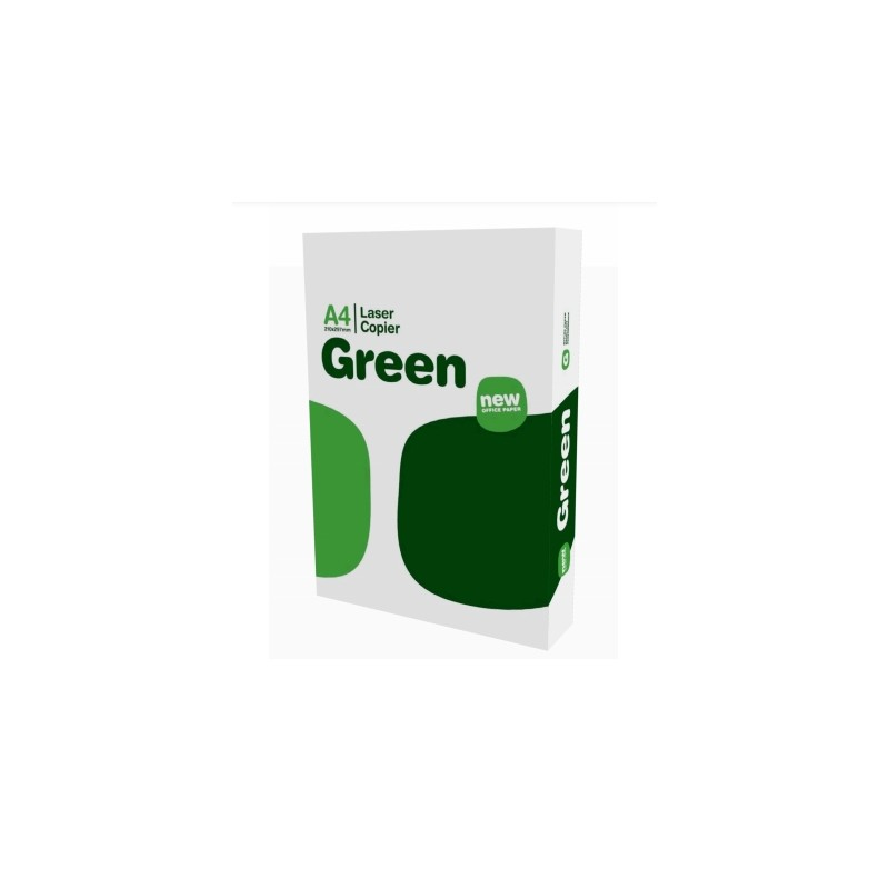 Carta per fotocopie A4 Green (The Navigator Company) 75 gr  Risma da 500 fogli (Pallet 240 risme)