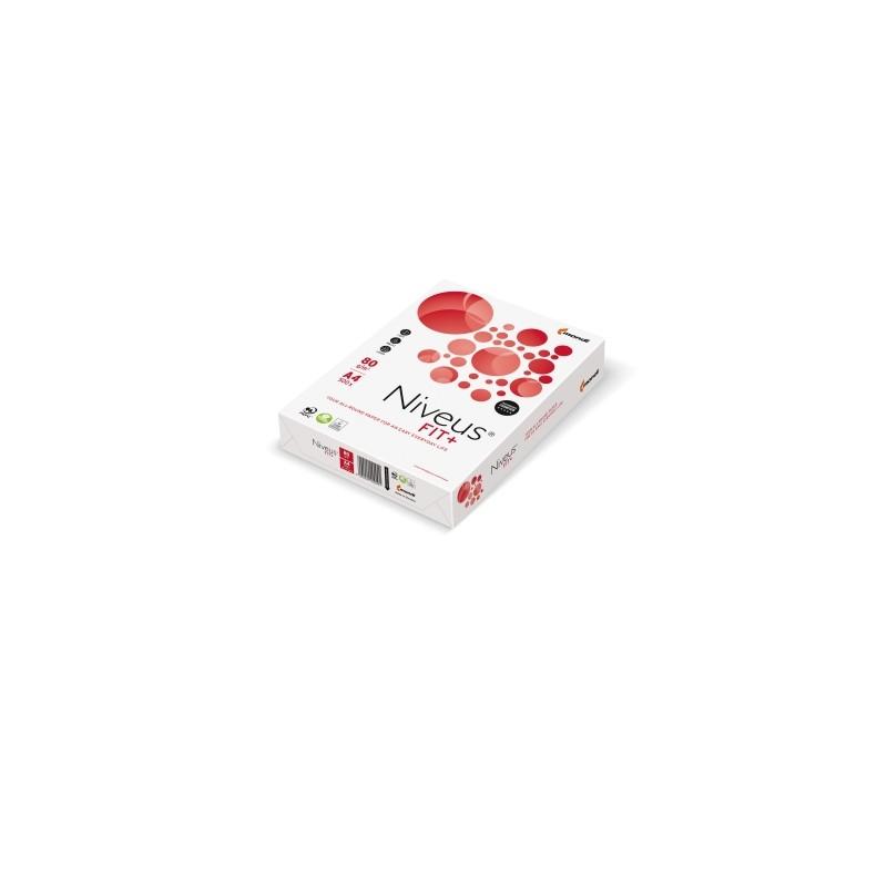 Carta per fotocopie A4 Niveus Fit+ Mondi 80 gr bianco risma da 500 fogli (Pallet 240 risme)