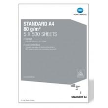 Carta per fotocopie A4 Konica Minolta Standard 80 gr bianco risma da 500 fogli (Pallet 240 risme)