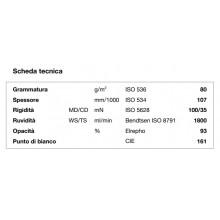 Carta per fotocopie A4 Black Label Office Canon 80 gr bianco risma da 500 fogli (Pallet 240 risme)