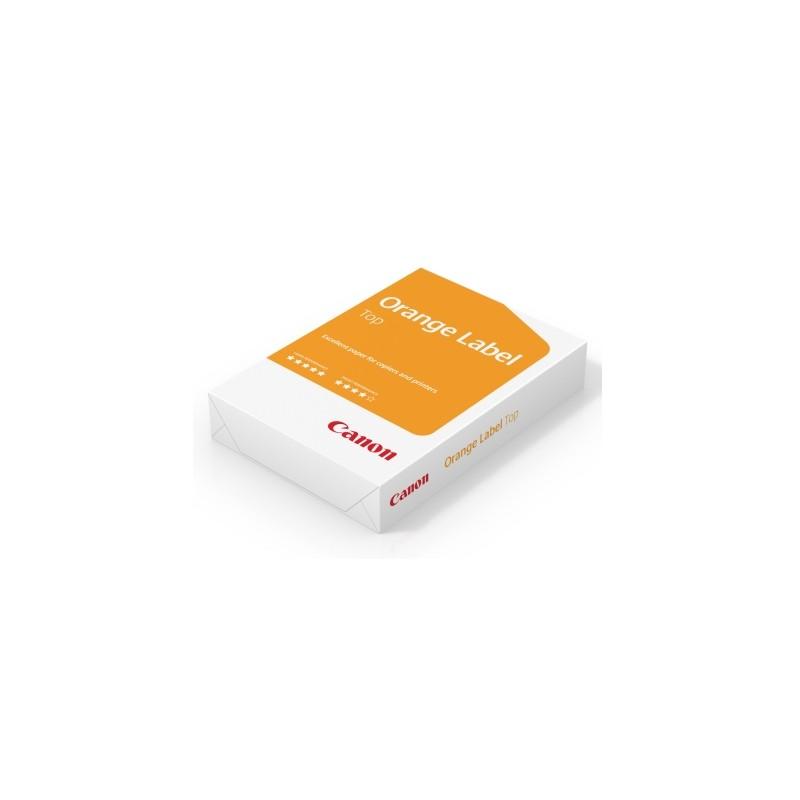 Carta per fotocopie A4 Orange Label Top Canon 80 gr bianco risma da 500 fogli (Pallet 240 risme)