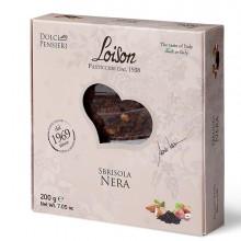 Torta Sbrisola nera 200gr - Loison