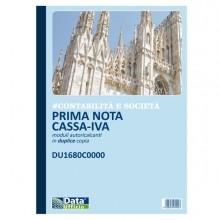 Blocco prima nota cassa/iva 50/50copie autor. 29,7x21,5cm DU1680C0000 (Conf.20)