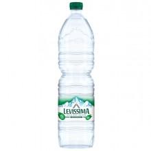 Acqua naturale bottiglia PET 100 riciclabile 1,5lt Levissima (Conf.6)