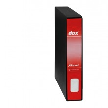 Registratore Dox 5 Rosso Dorso 5Cm F.To Protocollo Rexel