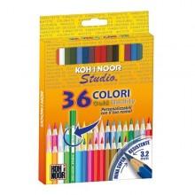 Astuccio 36 Matite Colorate Studio Koh.I.Noor