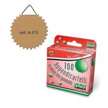 Scatola 100 Appendicartelli Adesiv. Tela Gommata Art.A373