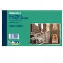 Blocco ricevute condominio 50/50copie autor. 10x16,8cm DU161370000 (Conf.20)