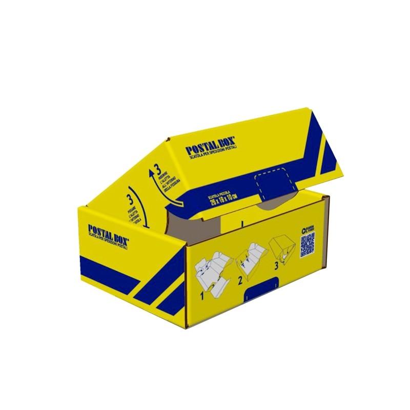Scatola spedizioni POSTAL BOX® PICCOLO 26x19x10cm BLASETTI