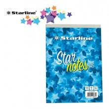 Blocco Note A5 15x21cm 5mm 60gr 60Fg StarNotes Starline (conf.10)