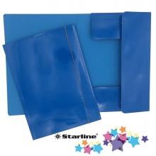 Cartella con elastico 25x34cm Azzurro Queen Starline (conf.10)