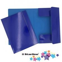 Cartella con elastico 25x34cm Blu Queen Starline (conf.10)