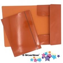 Cartella con elastico 25x34cm Arancio Queen Starline (conf.10)
