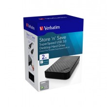 "Verbatim HDD esterno 3.5"" 2TB USB 3.0"