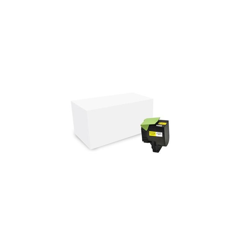 Toner Ric. Giallo per Lexmark CS410 pag3000