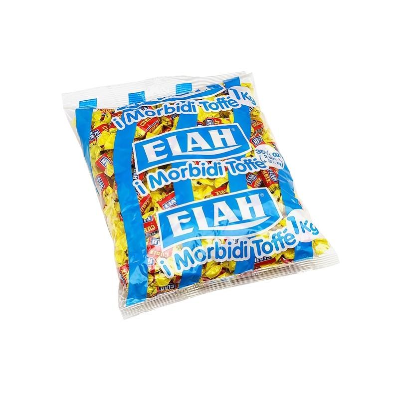 Caramelle Elah Toffee mou cubik busta 1kg