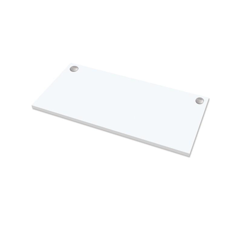 Piano di lavoro per scrivania Cambio - 160x80x2,5cm - bianco Fellowes
