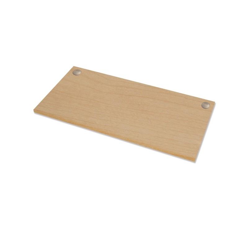Piano di lavoro per scrivania Cambio - 140x80x2,5cm - acero Fellowes