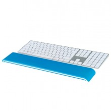 poggiapolsi per tastiera Ergo WOW bianco/blu - Leitz