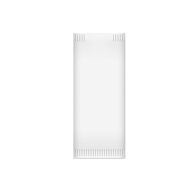 1000 Buste Portaposate in fibra riciclata con tovagliolo 38x38cm Fato