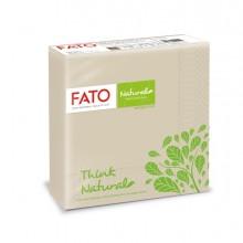 50 tovaglioli carta 33x33cm 2 veli Linea Natural Style Fato