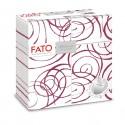 40 Quick Pocket 40x40cm color Bordeaux/bianco Linea Magie Fato