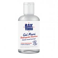 Gel detergente mani alcolico 77 60ml Bakterio