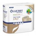 Pacco 4 rotoli Carta Igienica 270 strappi EcoNatural 4.3 Lucart Plastic Free