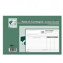 Blocco Nota Consegna Tent.Vendita 15X23 50Fg Autoric. E5217A Edipro