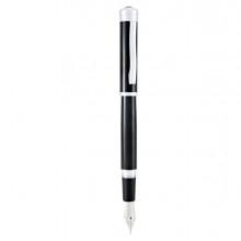 Penna stilografica Strata M fusto nero Monteverde
