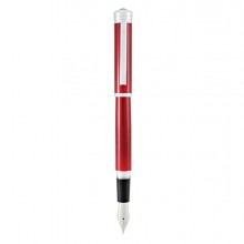 Penna stilografica Strata M fusto rosso Monteverde