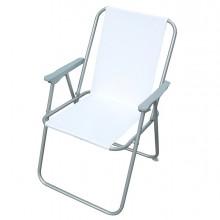 Sedia pieghevole bianca Relax