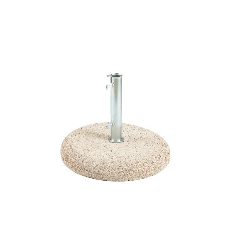 Base in cemento per ombrellone tondo