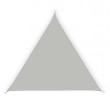 Tenda a vela ombreggiante triangolare 3,6m cenere