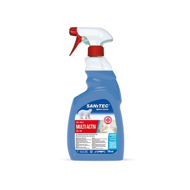 Disinfettante Multi Activ profumo pino 750ml Sanitec