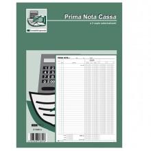 Blocco Prima Nota Cassa 50/50 Fogli Autoric. 31X21 E5369A