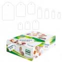 Scatola 1000 Etichette Con Filo A386 (13X34Mm)
