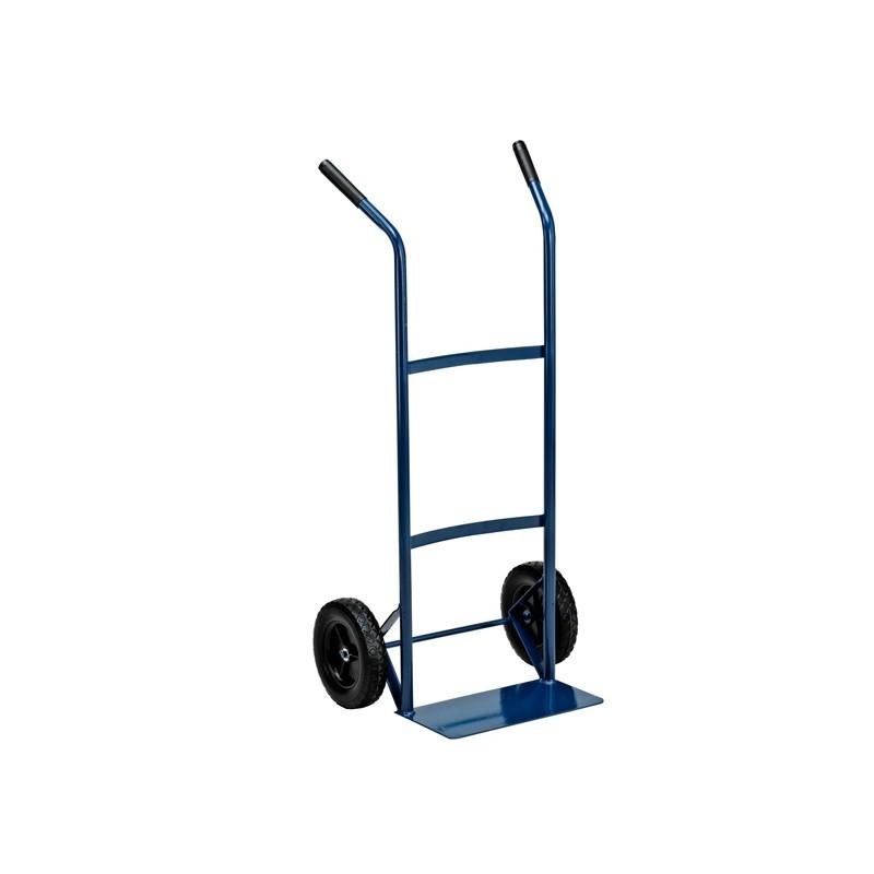 Carrello trasporto leggero con ruota rigida portata max 80kg