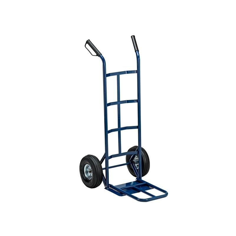 Carrello trasporto grandi volumi con ruota pneumatica portata max 250kg
