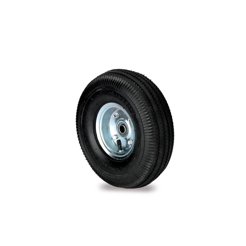 Ruota pneumatica per carrello trasporto grandi volumi