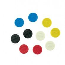 10 Magneti Ø13mm colori assortiti Nobo
