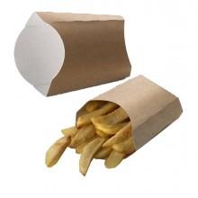 100 Box per fritti 13x13x5,5cm Street Food Leone