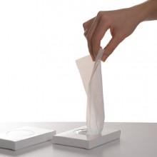 Scatola 25 sacchetti igienici 11x28cm bianchi in HDPE