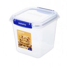 Contenitore per alimenti in PP quadrato 2,2lt Klip It Plus