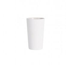 Bicchiere porta spazzolini bianco linea Mercurio