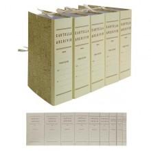 FALDONE C/LEGACCI JUTA 35X25CM DORSO 10CM (conf. 25 )