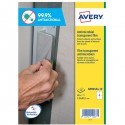 Adesivo antimicrobico in poliestere trasp. 10fg A4 139x99,1mm (4et/fg) Avery