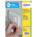 Adesivo antimicrobico in poliestere trasp. 10fg A4 quadri misti (68et/fg) Avery