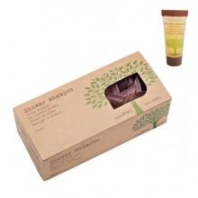 Confezione da 50 tubetti doccia shampoo 25ml Linea Cortesia Natura